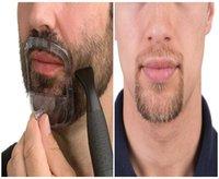 Beard Shaping Styling Ferramenta Barba, Bigode, Bigode Baard Template Comb por Homens Estilo Barba Cabelo Ferramenta afiação