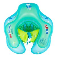 Baby baby swimming ring can be circled in the swimming pool ...
