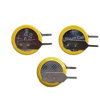400pcs pro Los CR1220 Vertikale Halterung Trough Lochtyp CR1220 3V Lithium-Knopfzellen-Batterie Knopfzelle für PCB