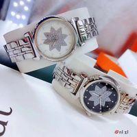 2019 New modelos de moda Mulheres relógios relógio de quartzo vestido de luxo de aço do diamante relógios dom feminino designer de clockTop relógio de pulso pesado Especial