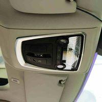 لBMW 5 7 سلسلة 5GT الجبهة مصباح X3 X4 F10 F18 F25 F26 السيارات التصميم الداخلية القراءة ضوء الإطار غطاء تريم الملحقات