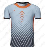 Последние мужские футболки для футбола Горячие Продажи Открытый Одежда Футбол Носить Высокое Качество 2020 00412A Edgeaq