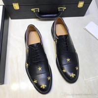 Großhandel Neues Design Luxus Echtes Leder Lace Up Moderne Männer Büro Schuhe Party Hochzeit Anzug Formale Schuhe Männliche Kleid Schuhe JS A0066 Von