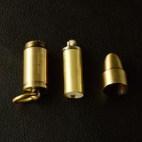Açık Mini Bullet Çakmak Alev Gazyağı Yağ Çakmak Anahtarlık Doldurulabilir Benzin Çakmak Erkekler Gadget