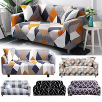 Fundas tramo 145-185cm seccional del estiramiento elástico Sofá Cover for Living Room Decor sofá cubierta en forma de L Sillón cubrir dos asientos