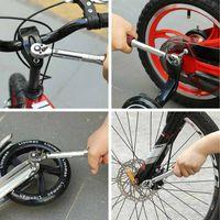 Livraison gratuite 1/4 Pouce Dr 2-15Nm Mini Réglable Route Carbone Main Vélo Vélo Kit D'outils Avec Pro Preset Clé dynamométrique Hex Bit Set