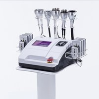 Prix ​​usine 8 Pads Diode Lipo Laser + machine à cavitation 40K + machine minceur à vide RF Cellulite 40K