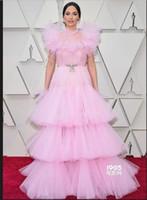 2019 오스카 필름 아랍 드레스 레드 카펫 연예인 드레스 공 가운 긴 라인 우아한 저녁 공식 드레스 저렴한 무료 배송
