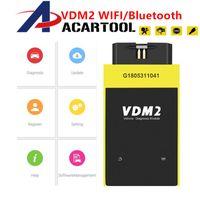 ferramenta de diagnóstico UCANDAS VDM II Wifi Bluetooth Automotive Scanner VDM2 V5.2 Multi-Idioma do sistema Android