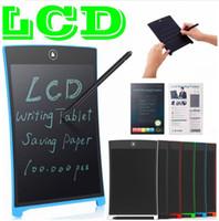 Neueste LCD-Schreibtafel Digital Digital Portable 8,5 Zoll Zeichnung Tablet Handschrift Pads Elektronische Tablet Board für Erwachsene Kinder Kinder
