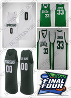 Custom 2019 Final Four Michigan State Spartans Basketball je...