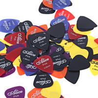 Alice ABS Gitar 6 Boyutları (0.58mm / 0.71mm / 0.81mm / 0.96 / 1.2mm / 1.5mm) Smooth Buzlu Guitarra pena Aksesuarları seç