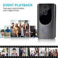 Video Camera Camera Visual Intercom com Chime Night Vision IP PORTA Bell Wireless Home Security Câmeras