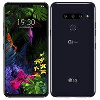 쓰자 원래 LG G8 ThinQ LMG820UM 6.1 인치 옥타 코어 6기가바이트 RAM 1백28기가바이트 ROM 16MP12MP 안드로이드 4G LTE 잠금 해제 스마트 폰