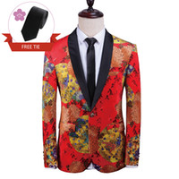 Belle abiti uomo Giacche per la Mens Wedding Suits Blazer Elegante qualità giacche smoking Prom Cena Suits Stampa Design Pattern Giacche