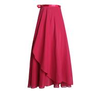 Kvinna lång chiffong dans kjol ballett wrap leotard klänning balsal dance praxis damer lärare klänning 2020