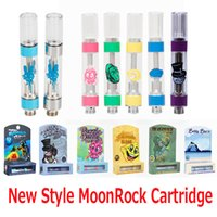 Nuovo Moonrock Clear Vape Razzle Dazzle Silverback Bobby Blue Carts Cartucce 0.8ml 1.0ml Tank 510 Ceramic Coil Oil Atomizer Moon Rock