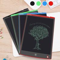 2019 NEU LCD Writing Tablet 12-Zoll-Digital-Memoboard Tafel Handschrift Pads mit verbessertem Stift für Erwachsene Kinder-Office-Zeichnungs TOP Besten