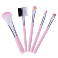 Rish Makeup Щетки для начинающих инструменты набор для глаз тени для глаз бровей подводка для глаз ресниц кисти для губ макияж кисти 5 шт. / Лот