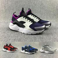 new arrivals e909c a69a5 nike air max Venta al por mayor Huarache Ultra Run zapatos triple blanco  negro hombres mujeres