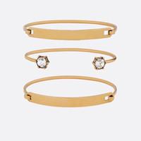 Mode Marke haben Briefmarken CZ Designer Armbänder Frauen Hochzeit Liebhaber Geschenk Engagement Luxus Schmuck mit Box HB520