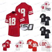 Personalizzato Nebraska Cornhuskers del calcio Jersey Qualsiasi Nome Numero # 2 Adrian Martinez 7 Scott Frost 10 JD Spielman 93 Ndamukong Suh S-4XL
