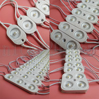 Super Bright OSRAM 3030 LED Module Light Strip Lamp Tape White 180 Degree 12V Injection PVC Transparent Cover IP65 Waterproof for AD Sign