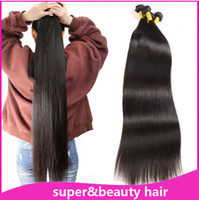 factory price long hair brazilian straight hair 30inch 40inc...