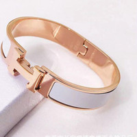 Jewelry Women Bracelets Stainless Steel Bangles Fashion H Le...