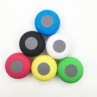 400 adet - su geçirmez mini bluetooth hoparlör taşınabilir subwoofer duş Soundbar müzik ses alıcısı arama kablosuz hoparlörler + zarif perakende kutusu