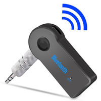 Coche Bluetooth adaptador del receptor de 3.5mm Aux estéreo USB Mini Wireless Bluetooth Audio Kit receptor de la música para el teléfono elegante de MP3 con paquete al por menor