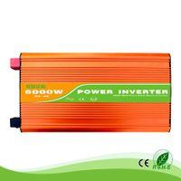 6KW / 6000W 24/48 / 96V 100/110/120/220/230/24 50 / 60Гц жилых домов использование высокой частоты чистая синусоида от инвертора сетки