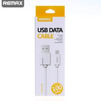 REMAX micro USB Type de câble Câble c 3ft charge rapide blanc chargeur avec boîte de détail