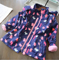 2019 New Girls Jackets Warm Polar Fleece Jackets For Girls W...