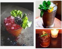 Набор мартини для коктейлей, оливковая вилка, фруктовый знак, нержавеющая сталь 304, цветная игла для титана, иглы для перемешивания