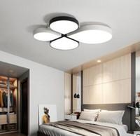 Yeni LED tavan lambası, modern sade bir atmosfer oturma odası lamba yonca çocuklar yatak odası lamba sıcak ve romantik MYY