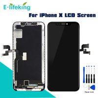 """AMOLED LCD Für iPhone X Display Touchscreen Digitizer Assembly OEM Ersatz TFT 100% Getestet Für iPhone X 5,8 """""""