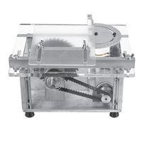 100W 100V-240V متعددة الوظائف الجدول البسيطة رأى النجارة مقعد مخرطة DIY آلة قطع