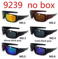 вождение Велоспорт Brand 9239 Солнцезащитные очки для мужчин Женщины велосипедов Спорт очки Защитные Goggle UV400 6 цветов Солнцезащитные очки