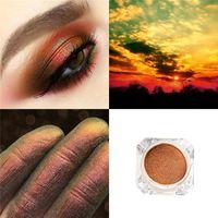 2019 El más nuevo Camaleón Shimmer Diamond Eyes Polarized Light Loose Impermeable Glitter Pigment Sombra de ojos en polvo de larga duración