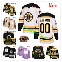 Custom Men Women Youth Boston Bruins 2019 Clásico de invierno Zdeno Chara Patrice Bergeron Tuukka Rask Halak Bobby Orr Coyle Camisetas de hockey