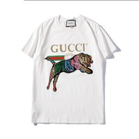 Brand Designer T Shirts For Men Brand Tops with Animal Embro...