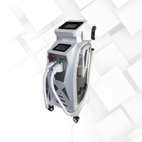 3IN1 IPL + RF+YAg Hair Removal machine q switch nd yag laser tattoo removal skin rejuvenation machine hot sale