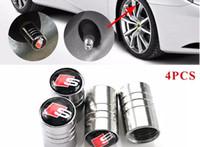 Audi Sline A1 A3 A4 B6 B8 B5 B7 S LINE A5 A6 C5 C6 A7 TT 자동 액세서리 자동차 스타일링 4PCS
