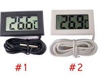 Mini-LCD-Digital-Thermometer präzise digitale Temperaturmessgerät Temperatur Instrument Sensor Wasserdicht Design-Analysatoren Temp Meter -50 ~ 110C LSK166