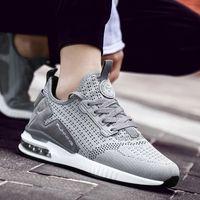 Erkekler Nefes Erkek Açık Sneakers Yetişkin Olmayan slip Rahat Mesh Spor Ayakkabıları Yumuşak Koşu Tenis Zapatos Ayakkabı Koşu