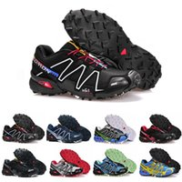 Brand Speedcross 3 CS Running Shoes For Men Breathable Light...