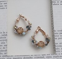 Vintage Baroque Royal and Palace Style Hoop Irregular Tiny P...