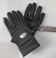 2019 Los guantes TN'F impermeables más nuevos Guantes de pantalla táctil The Norh Outdoor Sport Face Warm Full Finger Guantes Glove Touch Phone Touch Gloves
