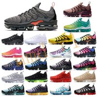 TN plus Mens pattini correnti delle donne Smokey Mauve String Colorways oliva In Metallic Violet triple Trainer Sport Sneakers con la scatola